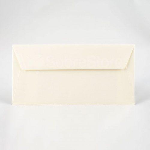 Sobres para invitaciones 110x220 crema