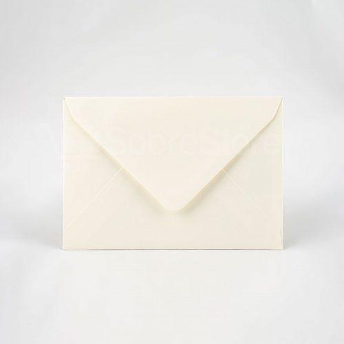 Sobres para invitaciones 120x176 crema