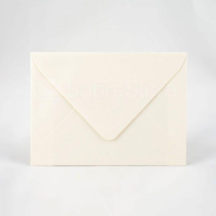 Sobres para invitaciones 145x200 crema