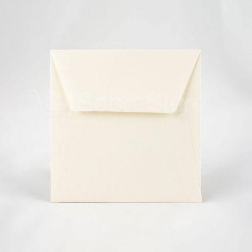 Sobres cuadrados para Invitaciones 165x165 crema