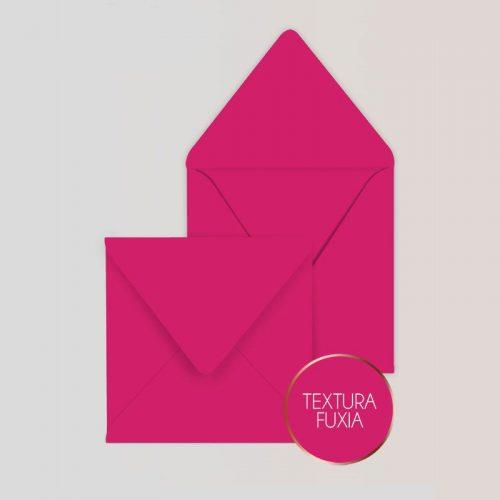 Sobres cuadrados para Invitaciones Color Fuxia