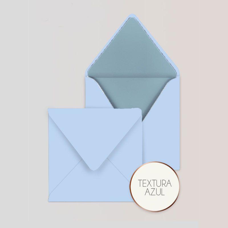 Sobres cuadrados para Invitaciones Color Azul