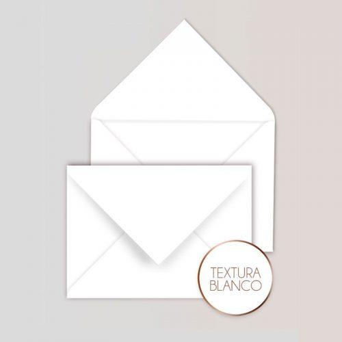 Sobres cuadrados para Invitaciones Color Blanco