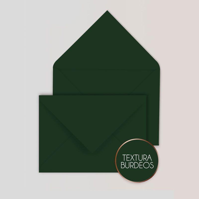 Sobres para Invitaciones Color Verde