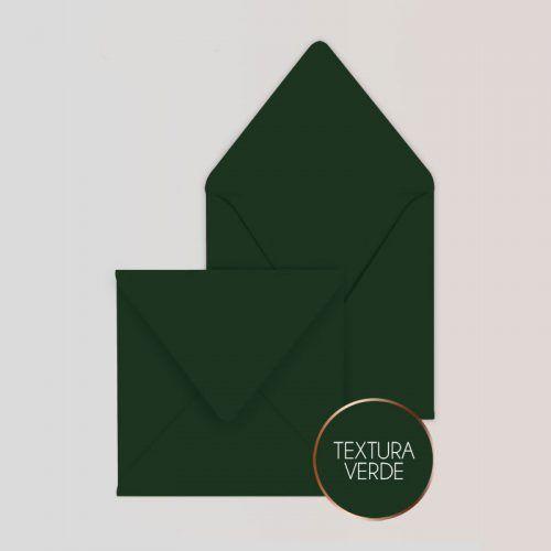 Sobres Para Invitaciones Cuadrado Color Verde