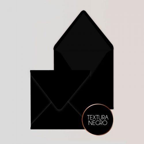 Sobres Cuadrados para Invitaciones color Negro