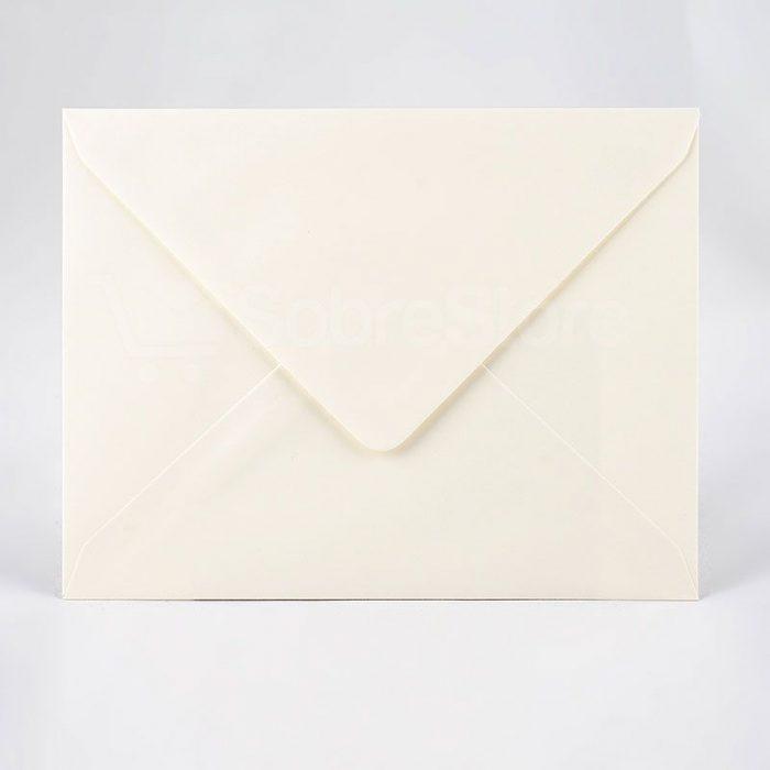 Sobres para invitaciones 176x231 color crema
