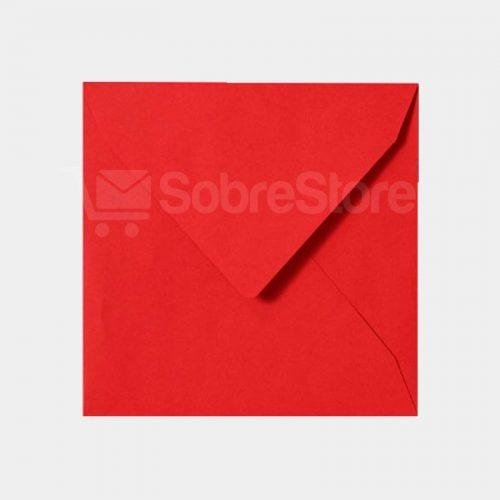 Sobres Cuadrados color Rojo