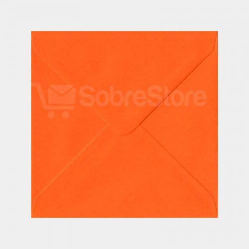 Sobres Cuadrados color Naranja