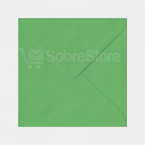 Sobres Cuadrados 170x170 color Verde Claro
