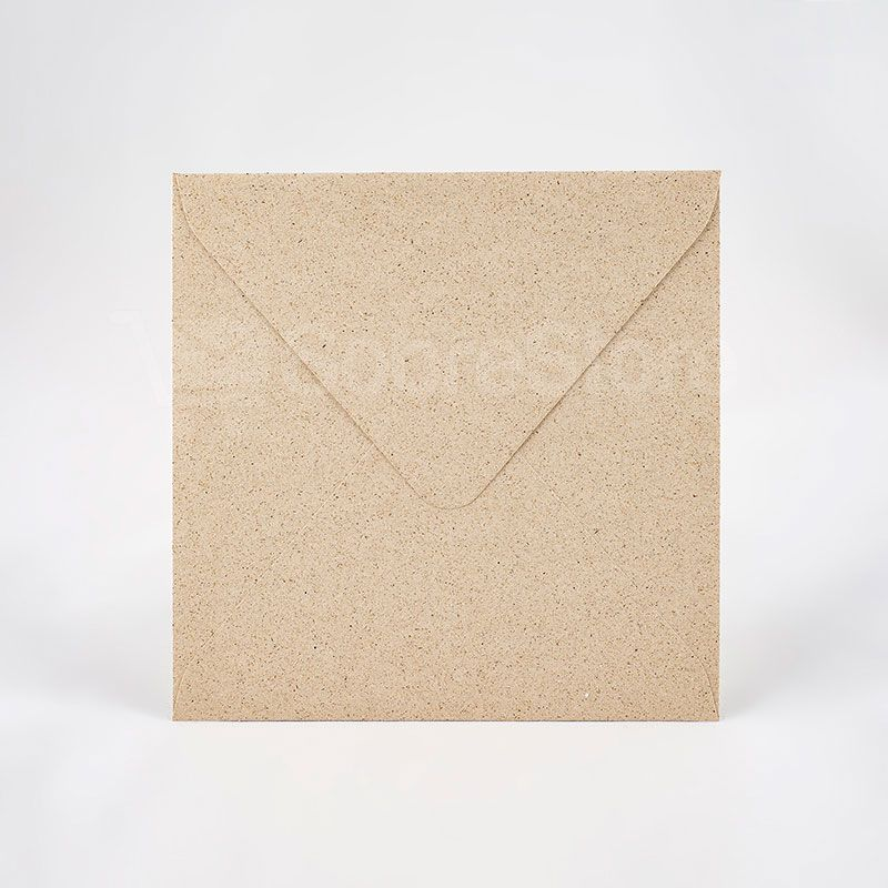 Sobres cuadrados para Invitaciones 170x170 Grasspaper