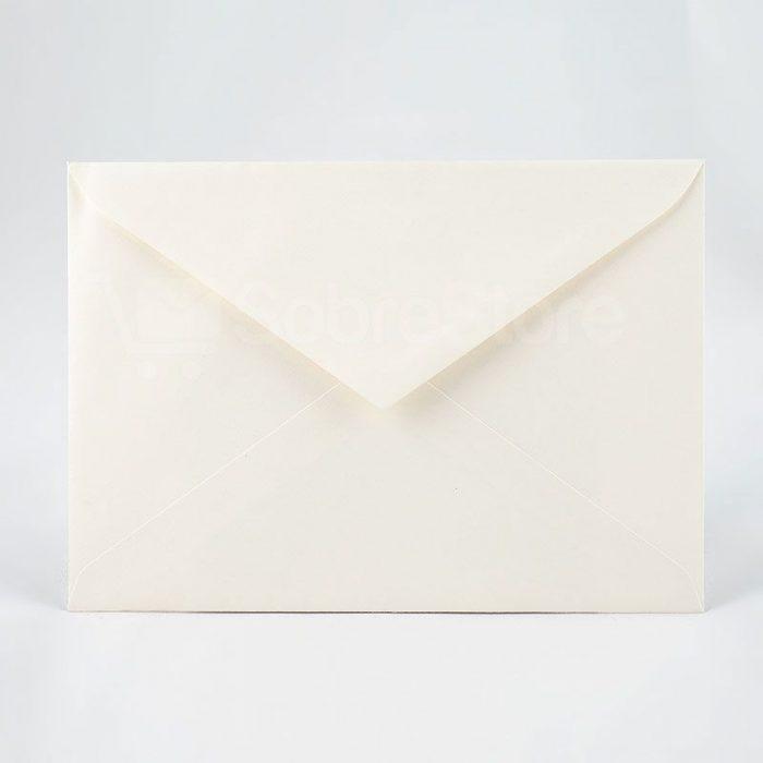 Sobres para Invitaciones de boda C5 162×229 marfil
