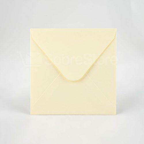 Sobres para Invitaciones de boda 165x165 Camoscio