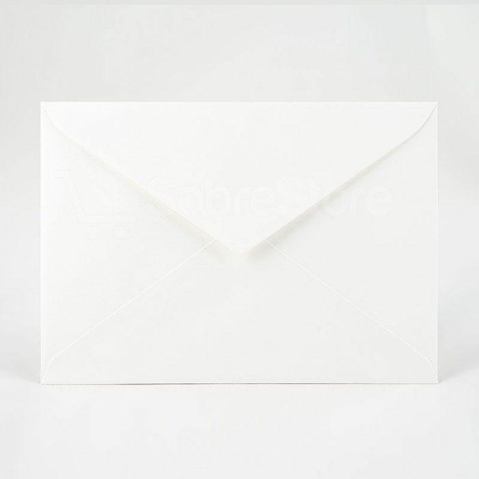 Sobres para Invitaciones de boda C5 Blanco artico