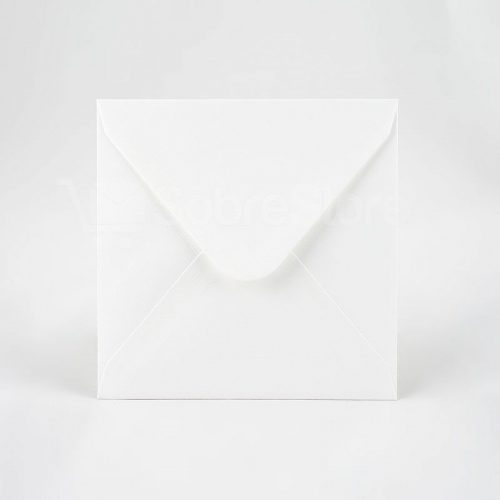 Sobres para Invitaciones de boda 165x165 Blanco artico