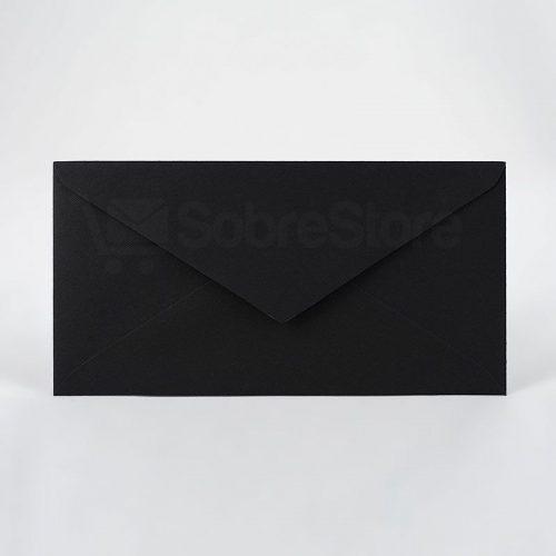 Sobres para Invitaciones de boda 115x225 nettuno negro
