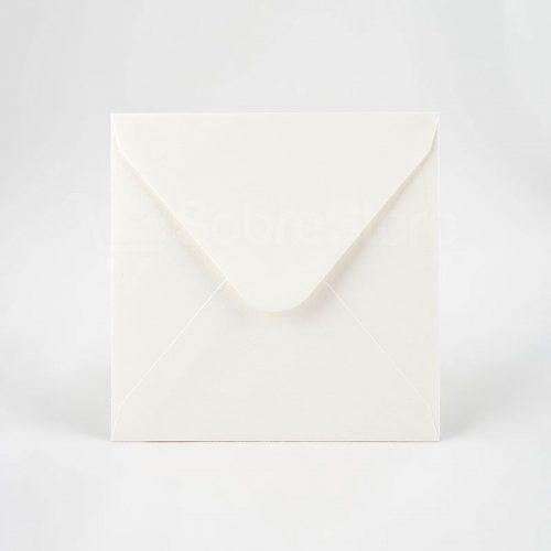 Sobres para Invitaciones de boda 165x165 blanco roto