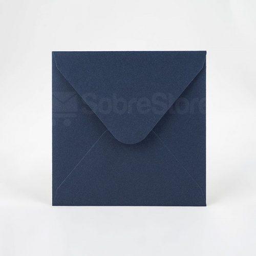 Sobres para invitaciones de boda 165x165 Ecologicos Cobalt