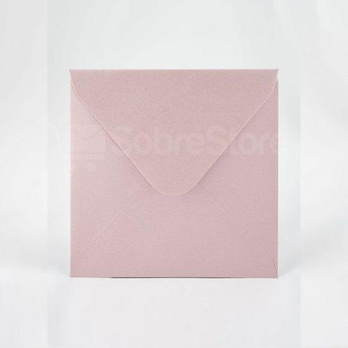 Sobres para Invitaciones de boda 165x165 Rosa