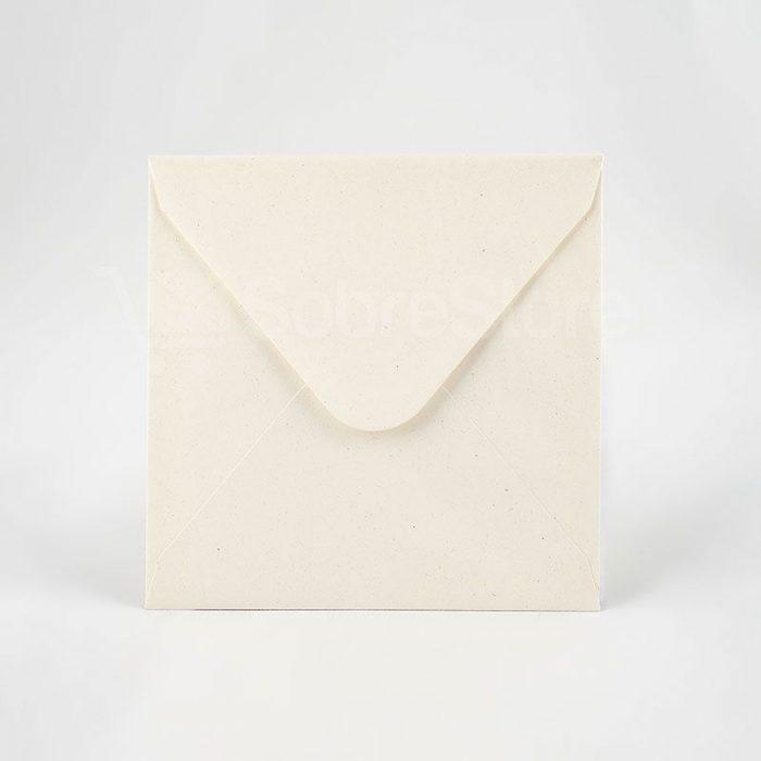 Sobres para Invitaciones de boda 165x165 reciclados
